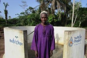 The Water Project: Baya Community -  Headman Sillah
