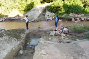The Water Project: Ngitini Community -  Trenching