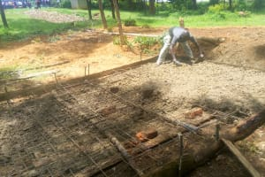 The Water Project: Shikhondi Girls Secondary School -  Latrine Construction
