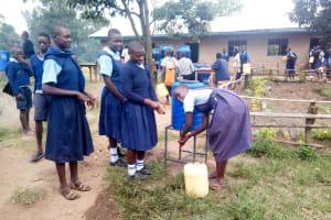 The Water Project: Shiru Primary School -  Handwashing Stations