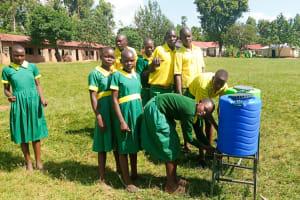 The Water Project: Madegwa Primary School -  Handwashing Stations