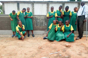 The Water Project: Jidereri Primary School -  New Latrines