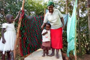 The Water Project: Luvambo Community, Timona Spring -  Sanitation Platform