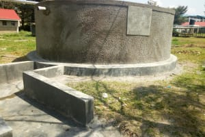 The Water Project: Joyland Special Secondary School -  Finished Tank