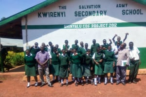 The Water Project: Kwirenyi Secondary School -  Students