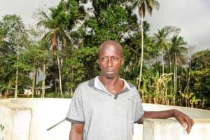 The Water Project: Tombo Bana Community -  Dauda Sesay