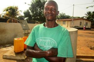 The Water Project: Benke Community, Turay Street -  Alhaji Bangura