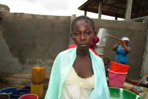 The Water Project: New London Community, Magburaka Road -  Adama