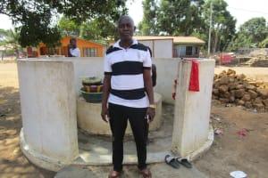 The Water Project: Kasongha Community, 16 Komrabai Road -  Alusine Conteh