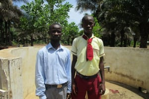 The Water Project: Ernest Bai Koroma Secondary School -  A Year With Water