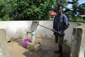 The Water Project: Benke Community, Waysaya Road -  A Year With Water