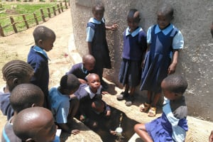 The Water Project: Shiru Primary School -  Finished Tank
