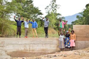 The Water Project: Ngitini Community -  Finished Sand Dam