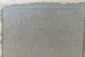 The Water Project: Shiru Primary School -  Tank Dedication