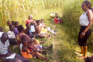 The Water Project: Chebwayi B Community, Wambutsi Spring -  Training