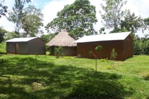 The Water Project: Luyeshe Community, Matolo Spring -  Traditional Household