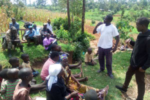 The Water Project: Handidi Community, Chisembe Spring -  Training