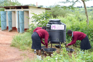 The Water Project: Uvaani Secondary School -  A Year With Water