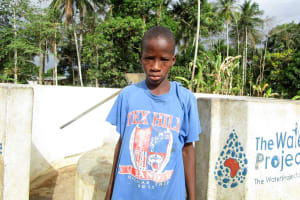 The Water Project: Tombo Bana Community -  Molai Bangura