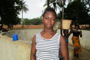 The Water Project: Royema Community A -  Kadiatu Mansaray