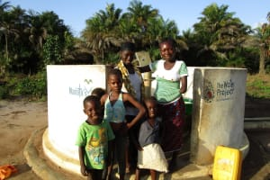 The Water Project: Kitonki Community, War Wounded Camp -  A Year With Water