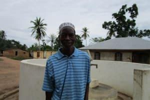The Water Project: Kafunka Community -  Momoh Sesay