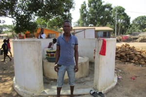 The Water Project: Kasongha Community, 16 Komrabai Road -  Foday Kamara