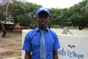 The Water Project: Kulufai Rashideen Secondary School -  Alie Kargbo