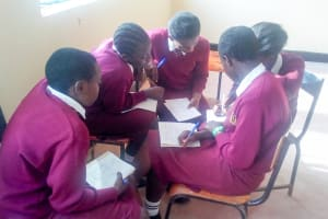 The Water Project: Shikhondi Girls Secondary School -  Group Discussion