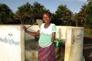 The Water Project: Kitonki Community, War Wounded Camp -  Yaela Sesay