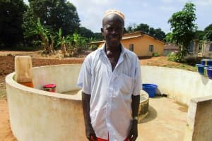 The Water Project: Mayaya Village A -  Pa Gribilla Kamara