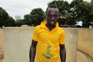 The Water Project: Conakry Dee Community A -  Alusine Massaquoi