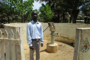 The Water Project: Ernest Bai Koroma Secondary School -  Komrabai Conteh
