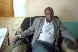 The Water Project: Kwirenyi Secondary School -  Principal Amalemba