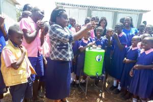 The Water Project: Makuchi Primary School -  Handwashing Training
