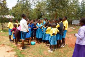 The Water Project: Eshilibo Primary School -  Handwashing Training