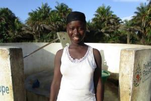 The Water Project: Kitonki Community, War Wounded Camp -  Kadiatu Koroma