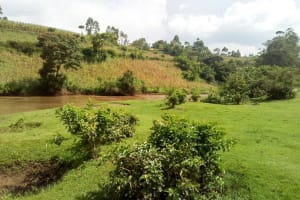 The Water Project: Kwirenyi Secondary School -  The River