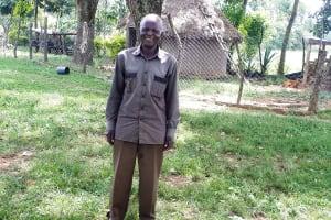The Water Project: Luyeshe Community, Matolo Spring -  Reuben Matolo