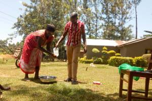 The Water Project: Musiachi Community, Thomas Spring -  Handwashing Training