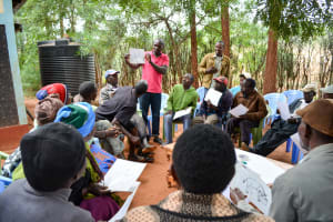 The Water Project: Ngitini Community A -  Training