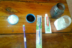 The Water Project: Shikhondi Girls Secondary School -  Dental Hygiene Tools