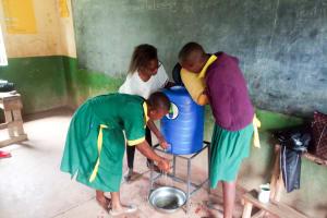 The Water Project: Madegwa Primary School -  Handwashing Training