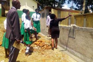The Water Project: ACK Milimani Girls' Secondary School -  Latrine Hygiene Training