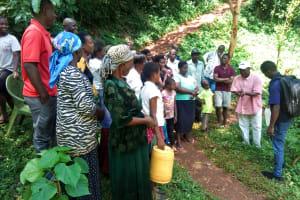 The Water Project: Shirakala Community, Ambani Spring -  Handwashing Training