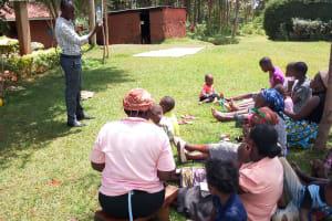 The Water Project: Musutsu Community, Mwashi Spring -  Training