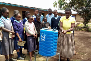 The Water Project: Shiru Primary School -  Training