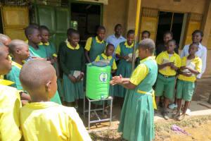 The Water Project: Jidereri Primary School -  Handwashing Training