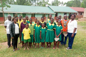 The Water Project: Madegwa Primary School -  Training Participants