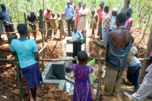 The Water Project: Musiachi Community, Thomas Spring -  Training At The Spring